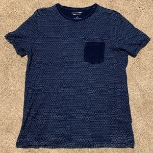 Abercrombie And Fitch - Blue Patterned Tee
